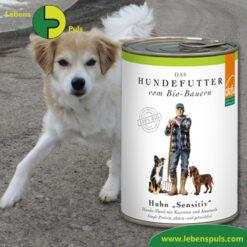 Defu Felderzeugnisse Bio Hundefutter Nassfutter Huhn Sensitiv