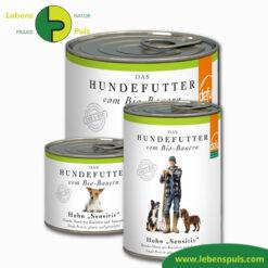 Defu Felderzeugnisse Bio Hundefutter Nassfutter Huhn Sensitiv 1