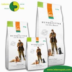 Defu Felderzeugnisse Bio Hundefutter Trockenfutter Adult Gefluegel 1