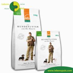 Defu Felderzeugnisse Bio Hundefutter Trockenfutter Adult Mini Gefluegel 1