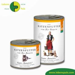 Defu Felderzeugnisse Bio Katzenfutter Nassfutter Gans 1