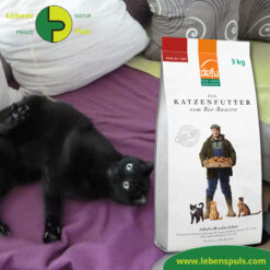 Defu Felderzeugnisse Bio Katzenfutter Trockenfutter Adult Rinderleber