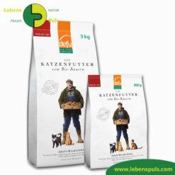 Defu Felderzeugnisse Bio Katzenfutter Trockenfutter Adult Rinderleber 1
