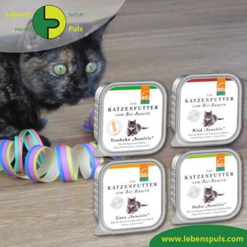 Defu Felderzeugnisse Bio Katzen Nassfutter