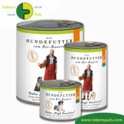 Defu Felderzeugnisse Bio Hundefutter Nassfutter Huhn High Sensitiv Getreidefrei 1