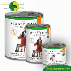 Defu Felderzeugnisse Bio Hundefutter Nassfutter Truthahn High Sensitiv Getreidefrei 1