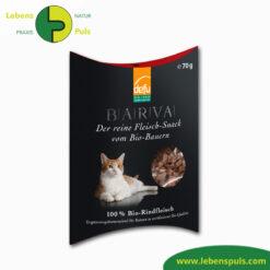 Defu Felderzeugnisse Bio-Katzenfutter Fleisch-Snack Rind Barva 1