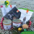 Weihnachtsbox mit Bio Hundefutter Defu