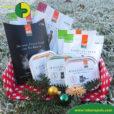 Weihnachtsbox mit Bio Katzenfutter Defu