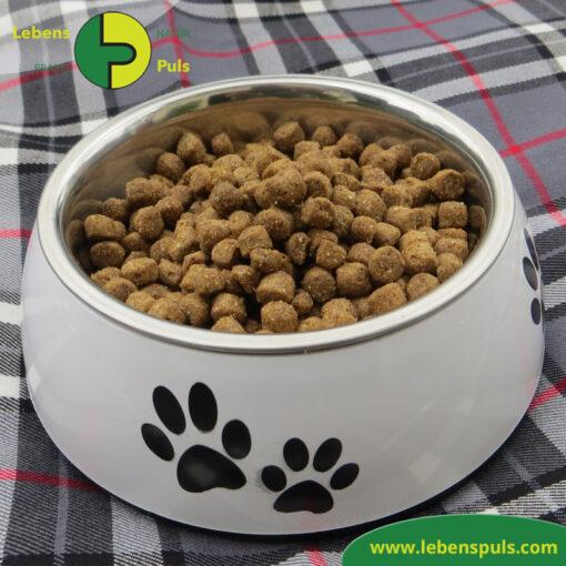 Defu Felderzeugnisse Bio Hundefutter Trockenfutter Adult Mini Gefluegel Napf