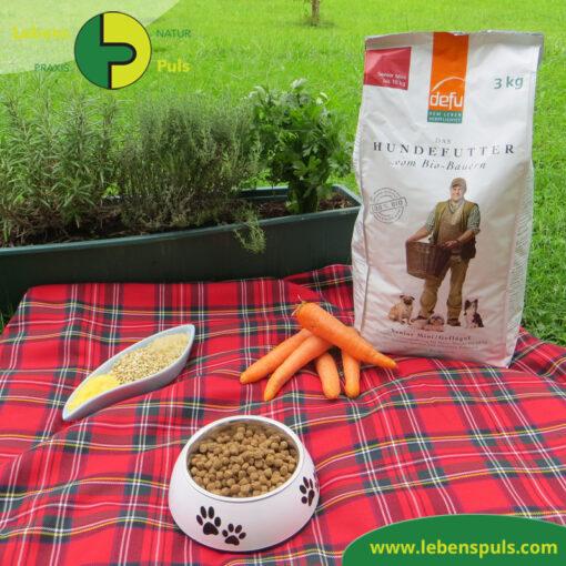 Defu Felderzeugnisse Bio Hundefutter Trockenfutter Senior Mini Gefluegel Picknick