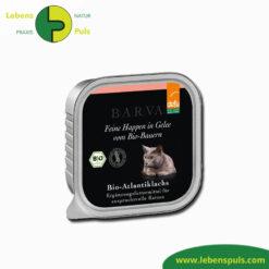 defu bio katzenfutter nassfutter barva atlantiklachs mit gelee 100g 1