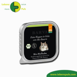 defu bio katzenfutter nassfutter barva hofhuhn mit gelee 100g 1
